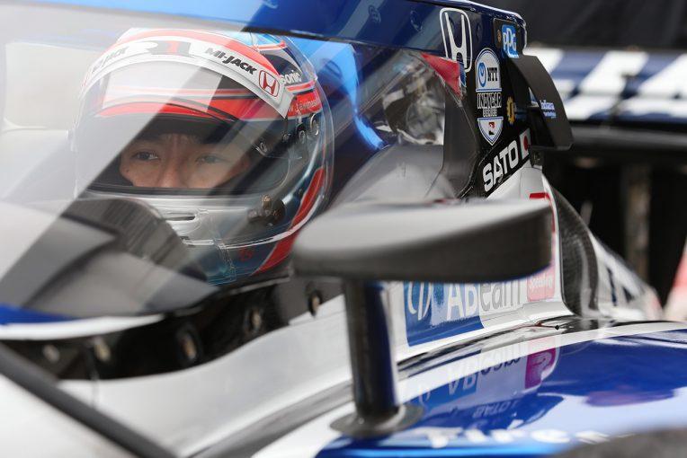 海外レース他 | 今季導入のエアロスクリーンを初テストした佐藤琢磨「トップとまだ差があるのは感じている」