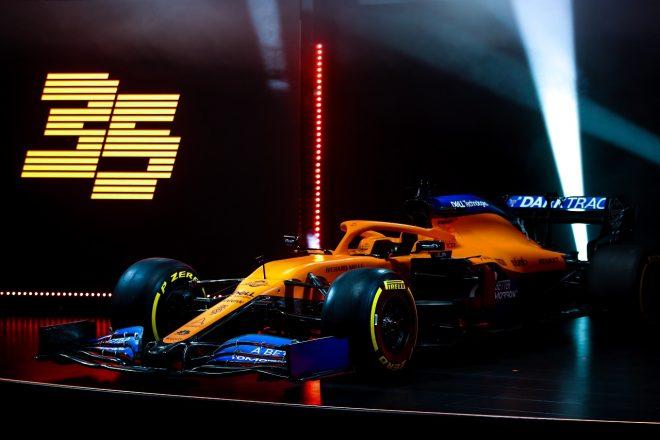 マクラーレンの2020年型F1マシン『MCL35』の発表会