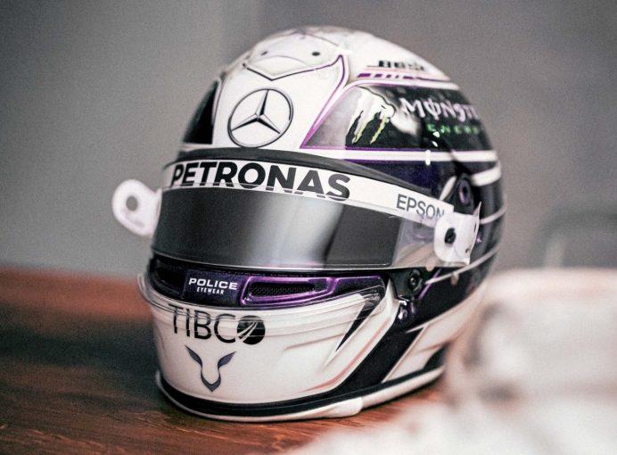 F1 | ハミルトン、2020年F1シーズンに向けてヘルメットデザインを大きく変更