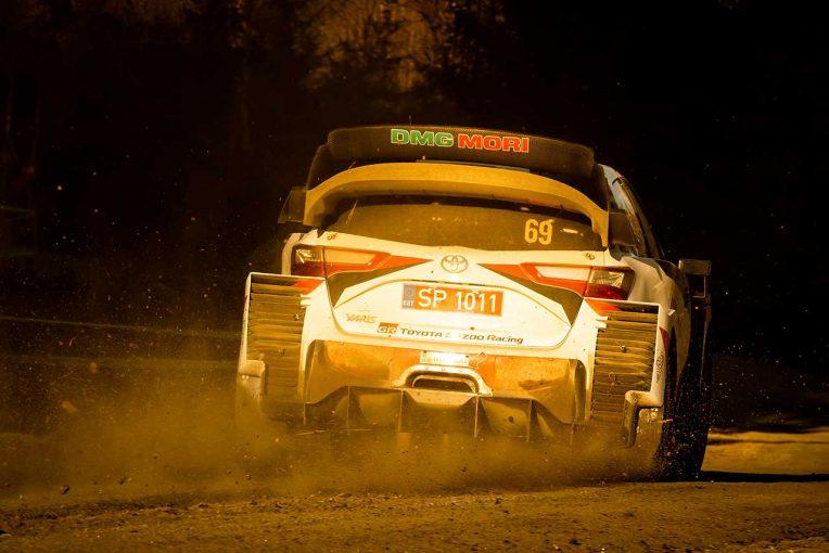 ラリー/WRC | WRC第2戦スウェーデン:トヨタ、シェイクダウンでトップ3独占。「タイヤマネジメントが鍵握る」