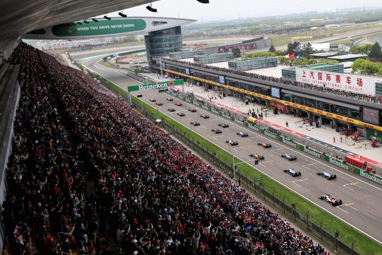 F1   中国GPへの対応に苦慮するF1「中止を避けたいが、リスケジュールは極めて困難」