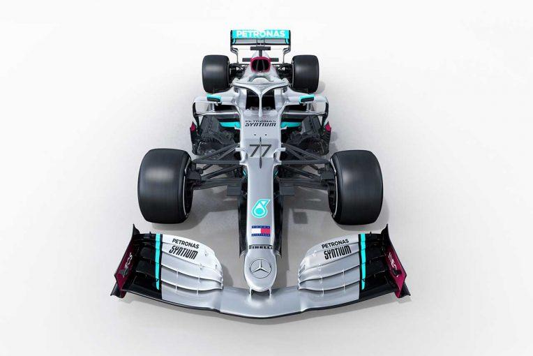 F1   【ギャラリー】2020年型メルセデスF1マシン『W11』