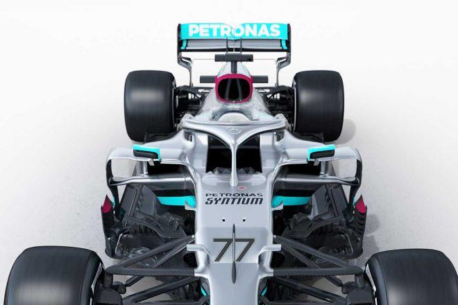 F1 | 【津川哲夫のF1新車初見チェック】ダクト拡大のメルセデスW11は課題の冷却性能克服か。散見されるレッドブルの手法