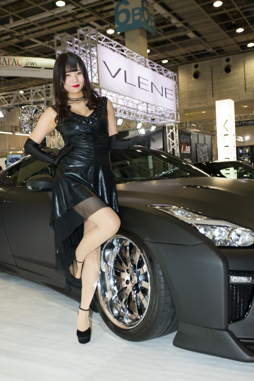 大阪オートメッセ2020コンパニオンギャラリー<br>菊池ゆう/VLENE