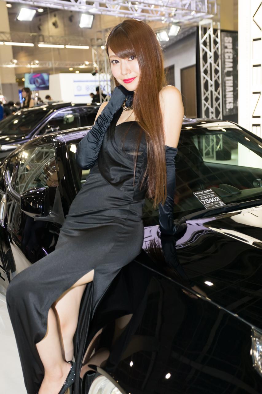 大阪オートメッセ2020コンパニオンギャラリー<br>愛聖りさ/VLENE