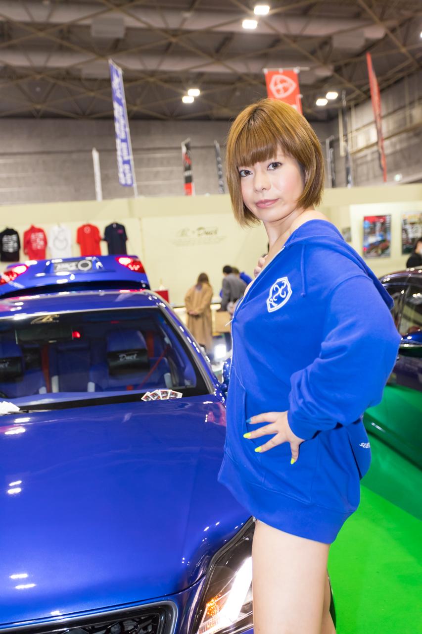 大阪オートメッセ2020コンパニオンギャラリー<br>山口ちなつ/P's×Duex