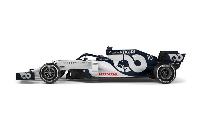 F1   【ギャラリー】2020年型アルファタウリ・ホンダF1マシン『AT01』
