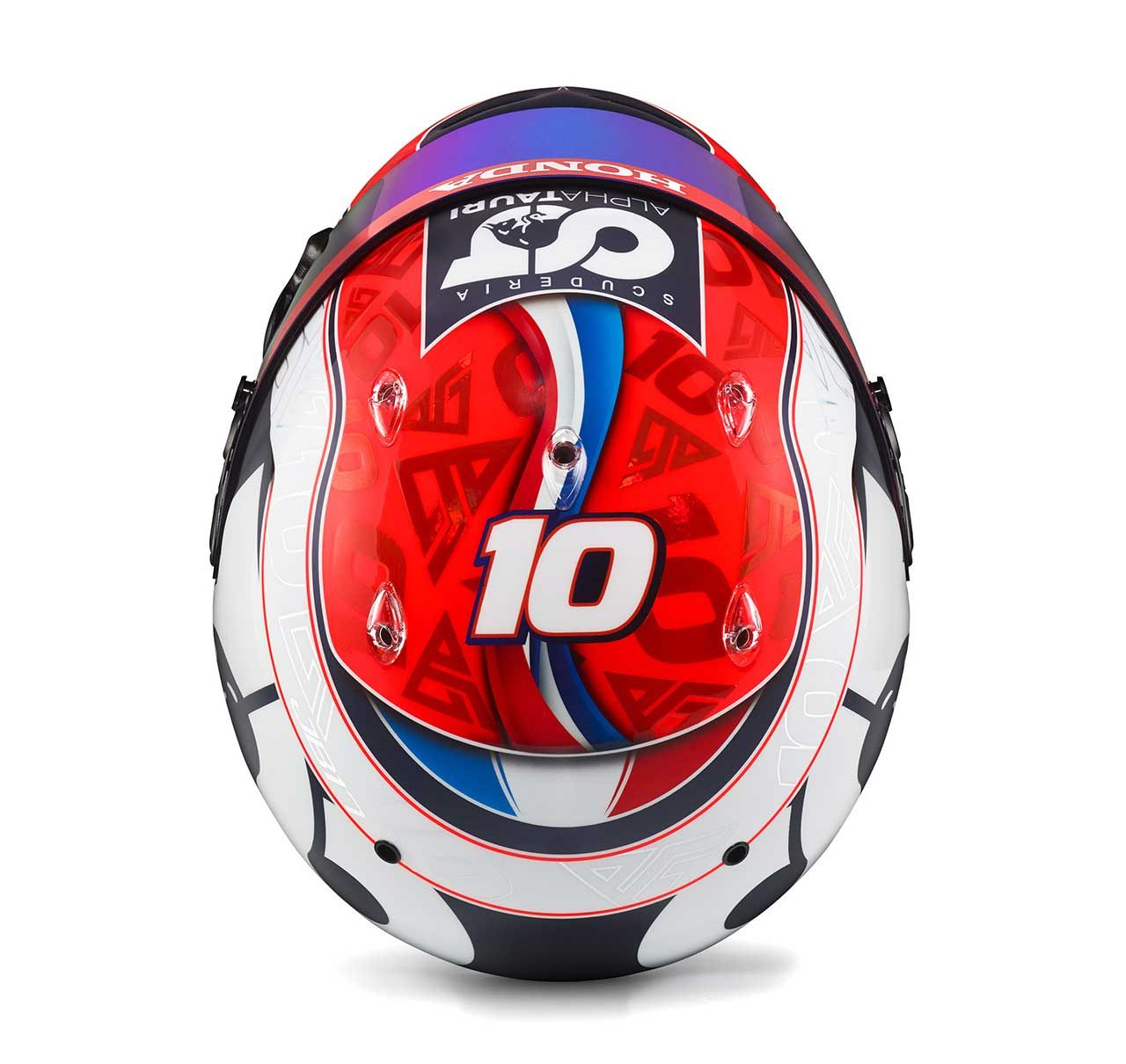 ピエール・ガスリー(アルファタウリ・ホンダ)の2020年仕様ヘルメット