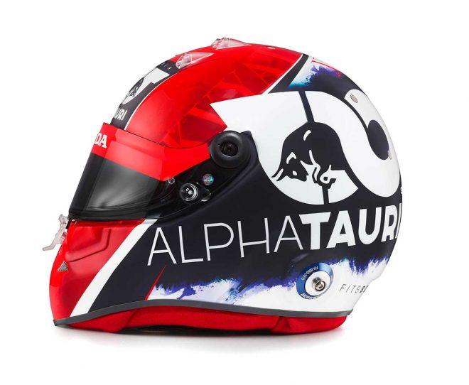 F1 | ダニール・クビアト(Daniil Kvyat) 2020年のヘルメット2