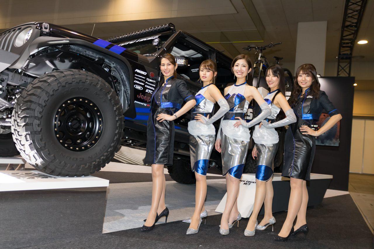 大阪オートメッセ2020コンパニオンギャラリー<br>トーヨータイヤ