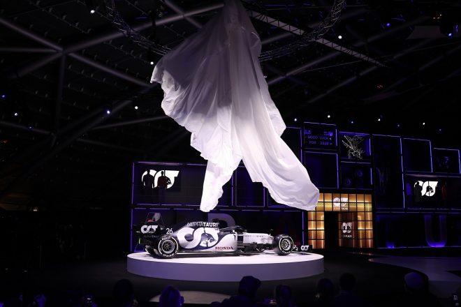 アルファタウリ2020年型F1マシン『AT01』の発表会