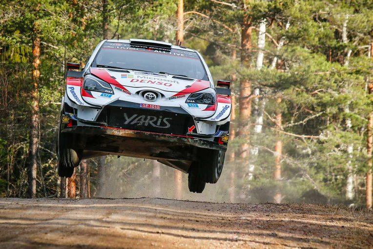 ラリー/WRC | WRC第2戦スウェーデン:大会2日目、トヨタのエバンスが前年王者タナクを抑えて総合首位