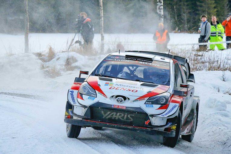 ラリー/WRC | WRC第2戦スウェーデン:大会3日目、エバンス快走でリード拡大。トヨタの2020年初優勝に王手