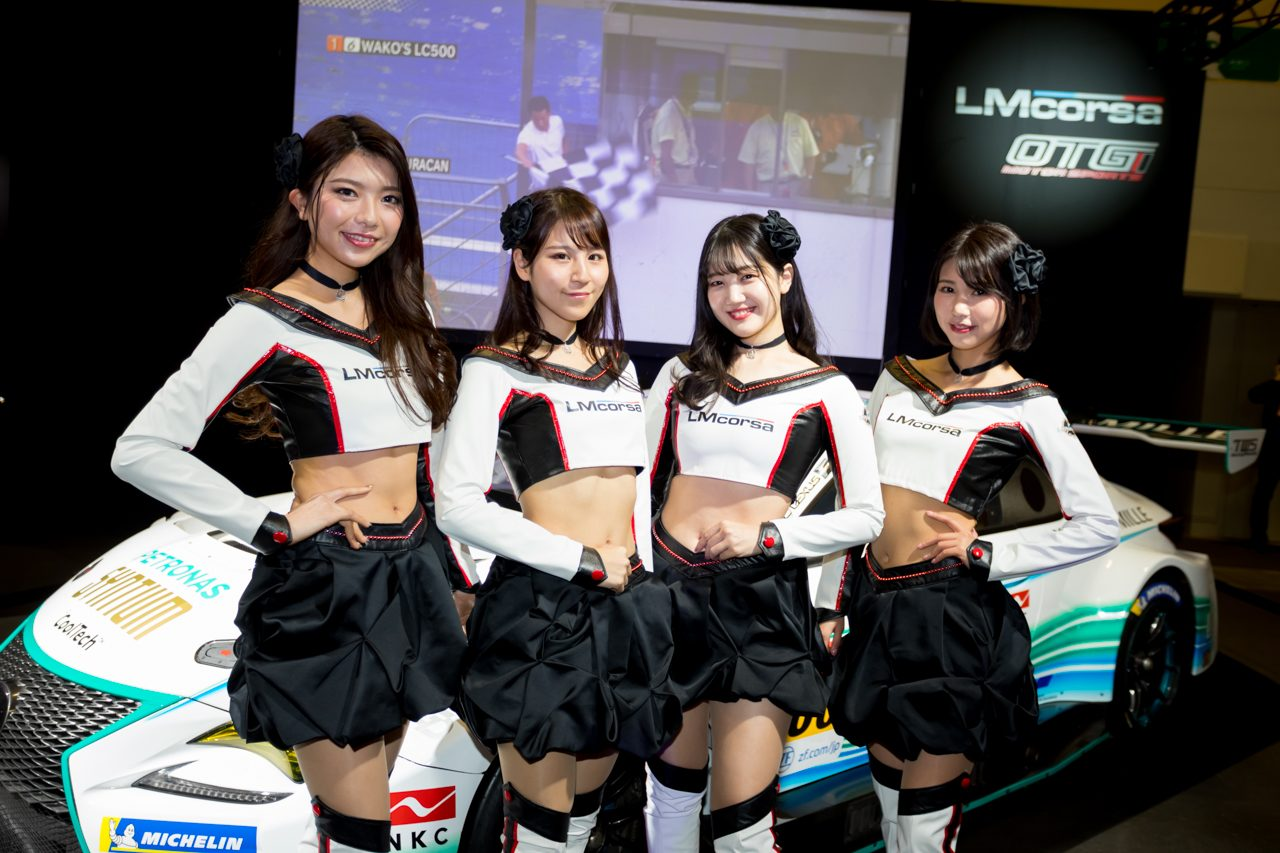 【RQ決定情報】大阪オートメッセで2020年のTWSプリンセス4名がお披露目