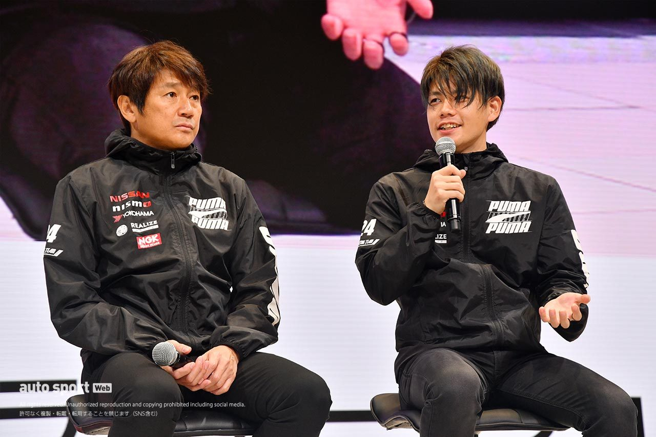 KONDO Racingの近藤真彦監督と高星明誠
