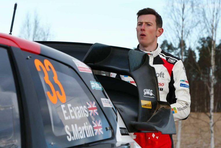 ラリー/WRC   総合首位のリード広げたトヨタのエバンス「状況をうまくコントロールできた」/2020WRC第2戦スウェーデン デイ2後コメント