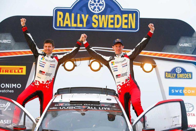 ラリー/WRC | WRC第2戦スウェーデン:トヨタが2020年初優勝。エバンスが逃げ切りキャリア2勝目