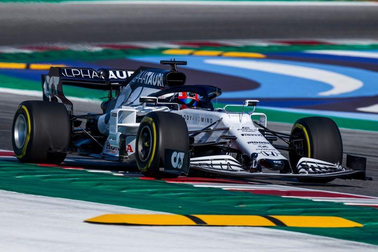 F1 | クビアト&ガスリーがアルファタウリ・ホンダ『AT01』をシェイクダウン「最高の一日。公式テストへの準備は整った」