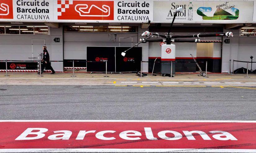 F1   【動画】ハースF1、バルセロナで2020年の新車『VF-20』をシェイクダウン