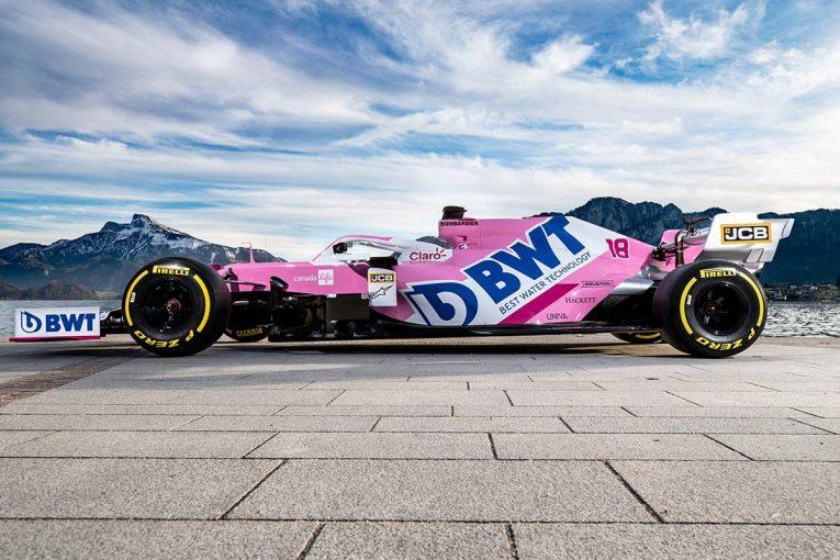 F1   【ギャラリー】2020年型レーシングポイントF1マシン『RP20』