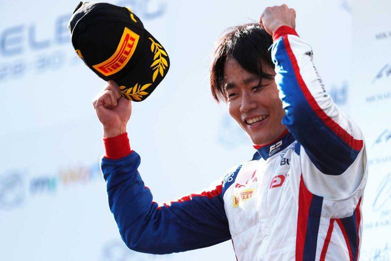 海外レース他 | 松下信治、FIA-F2継続参戦へ。MPモータースポーツ加入を発表「ライバルを驚かせるようなパッケージを」