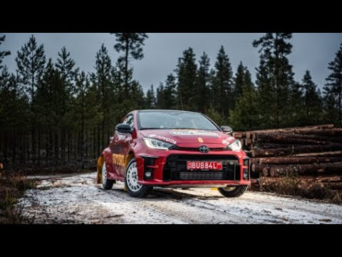 【動画】赤いGRヤリスがWRCスウェーデンに登場。ゼロカーの役目を果たす
