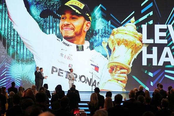 ハミルトンが2020年ローレウス世界スポーツ賞『スポーツマン・オブ・ザ・イヤー』を受賞