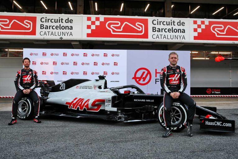 F1 | ハースF1『VF-20』の実車を公開。2020年シーズンは中団勢トップ争いに戻れるか