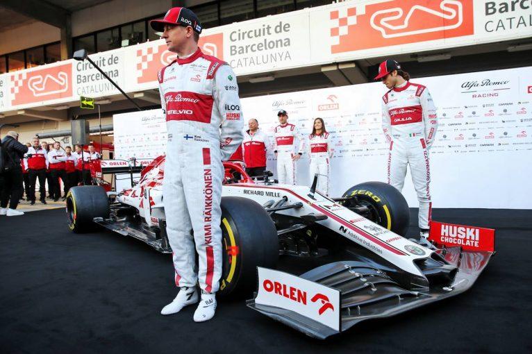 F1   【ギャラリー】2020年型アルファロメオF1マシン『C39』