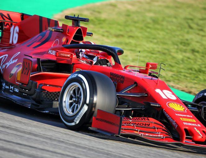 F1 | F1プレシーズンテスト1日目がスタート。ベッテルが体調不良で走行中止、フェラーリのテストはルクレールが担当