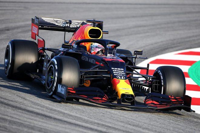 2020年F1プレシーズンテスト1回目デイ1:マックス・フェルスタッペン(レッドブル・ホンダ)