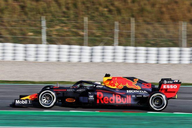 2020年F1第1回バルセロナテスト1日目:マックス・フェルスタッペン(レッドブル・ホンダ)