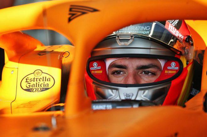 2020年F1第1回バルセロナテスト1日目:カルロス・サインツJr.(マクラーレン)
