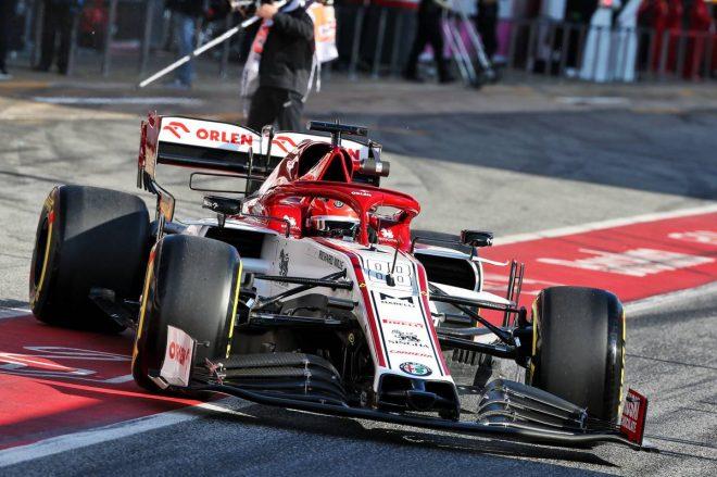2020年F1第1回バルセロナテスト1日目:ロバート・クビサ(アルファロメオ/リザーブドライバー)
