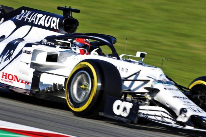 2020年F1第1回バルセロナテスト1日目:ダニール・クビアト(アルファタウリ・ホンダ)