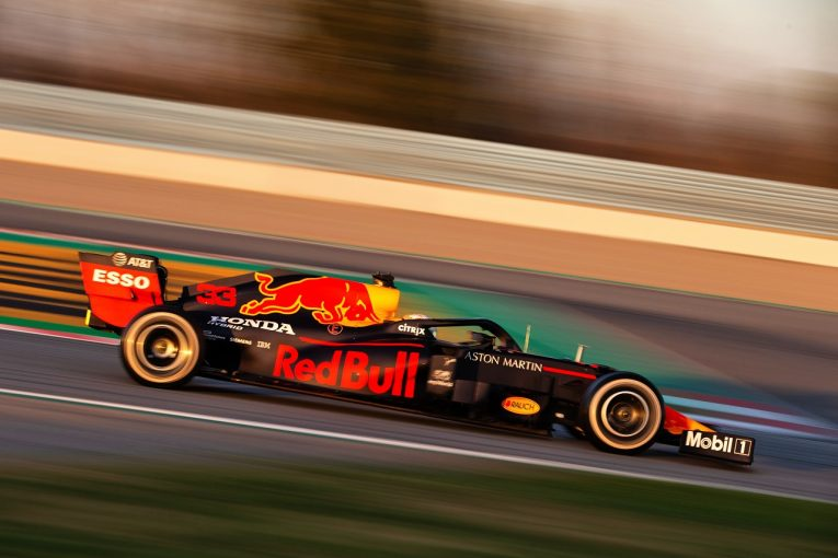F1 | 【第1回F1バルセロナテスト1日目・タイム結果】レッドブル・ホンダのフェルスタッペンが最多周回を走行。ハミルトン最速