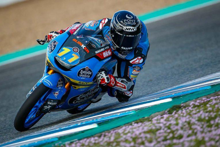 MotoGP | セルジオ・ガルシアがトップタイム、小椋藍は3番手【タイム結果】MotoGPへレス公式テスト1日目:Moto3クラス