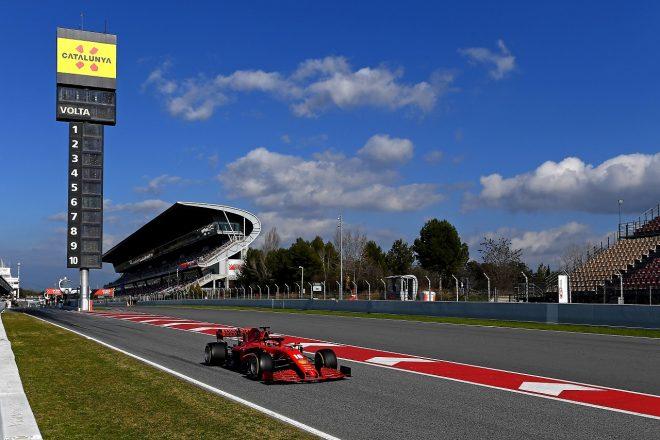 2020年第1回F1プレシーズンテスト1日目:シャルル・ルクレール(フェラーリ)