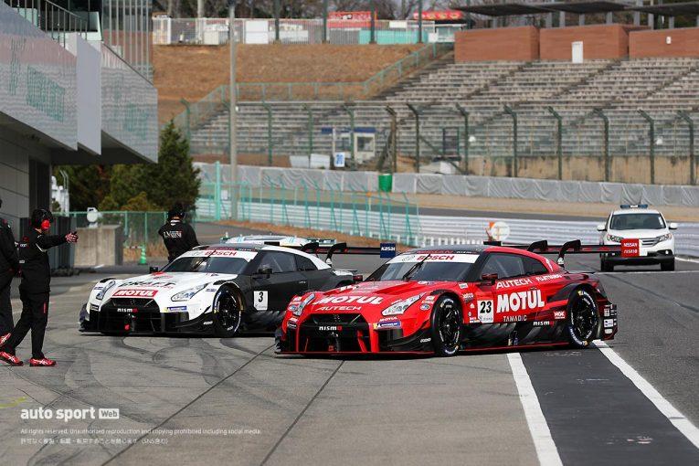 スーパーGT | スーパーGT:鈴鹿でメーカーテストがスタート。新車・ニューカラーリングも続々登場