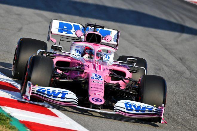 2020年第1回F1プレシーズンテスト1日目:セルジオ・ペレス(レーシングポイントRP20)