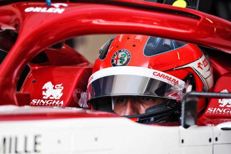 F1 | クビサがアルファロメオF1と初仕事「特別な1日。やることはたくさんあるが、良いスタートを切れた」