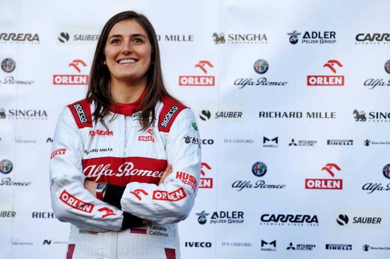 F1 | スーパーフォーミュラ参戦のカルデロン、2020年もアルファロメオF1でテストドライバー継続