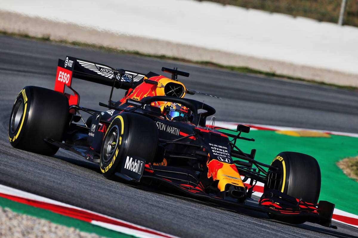 2020年F1第1回バルセロナテスト2日目 アレクサンダー・アルボン(レッドブル・ホンダ)
