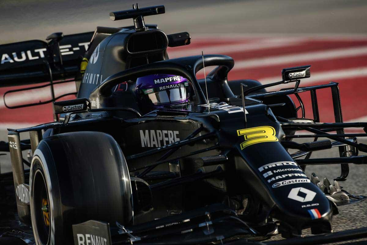 2020年F1第1回バルセロナテスト2日目 ダニエル・リカルド(ルノー)