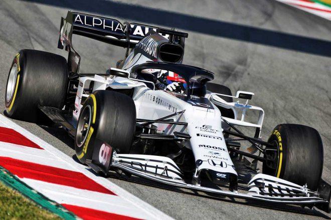 2020年F1第1回バルセロナテスト2日目 ピエール・ガスリー(アルファタウリ・ホンダ)