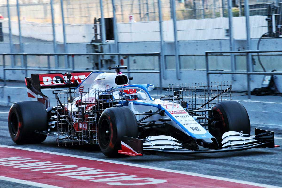 2020年F1第1回バルセロナテスト2日目 ジョージ・ラッセル(ウイリアムズ)