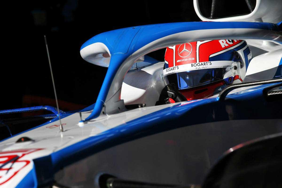 2020年F1第1回バルセロナテスト2日目 ジョージ・ラッセル(ウイリアムズ)2020年F1第1回バルセロナテスト2日目 ジョージ・ラッセル(ウイリアムズ)