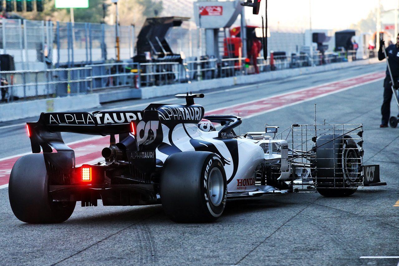 2020年第1回F1プレシーズンテスト2日目:ピエール・ガスリー(アルファタウリ・ホンダ)