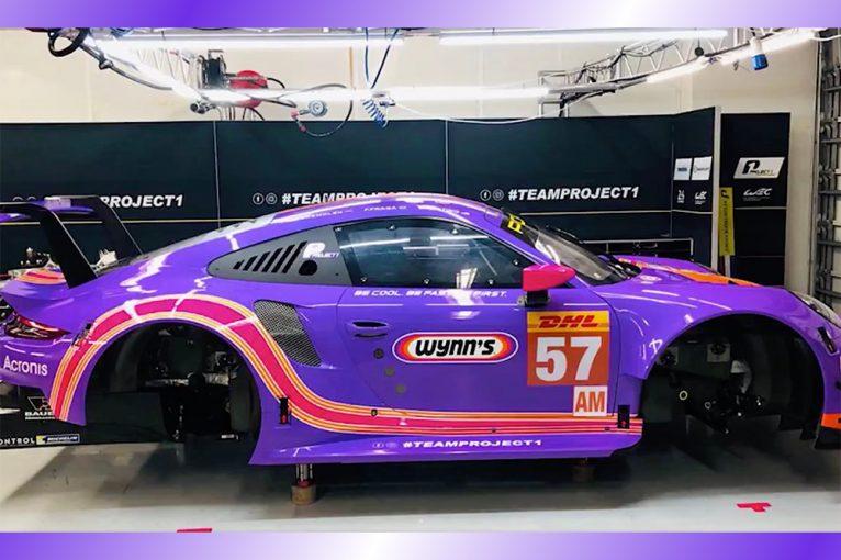 ル・マン/WEC | WEC:チーム・プロジェクト1の57号車ポルシェがウインズカラーに。アメリカ2連戦で採用予定