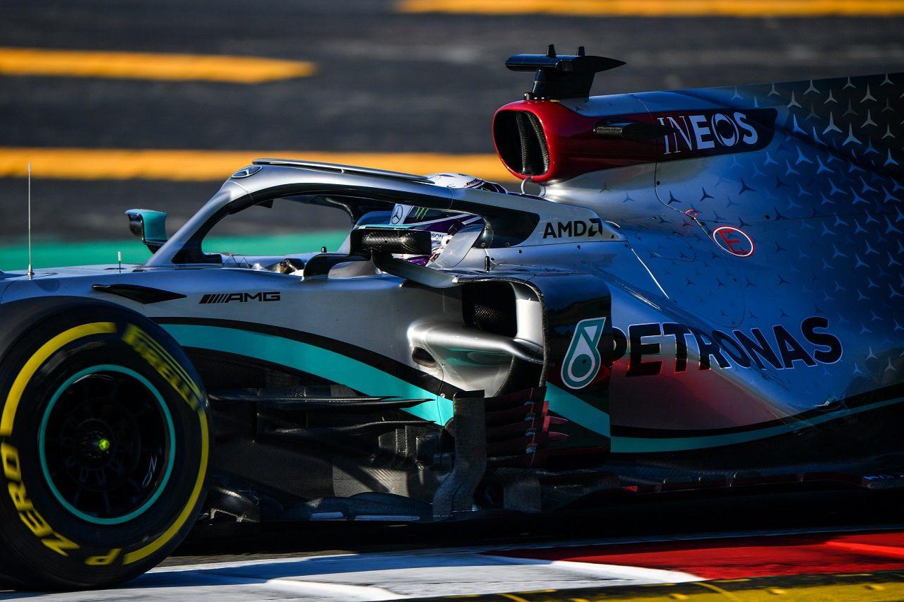 2020年第1回F1プレシーズンテスト2日目:ルイス・ハミルトン(メルセデス)
